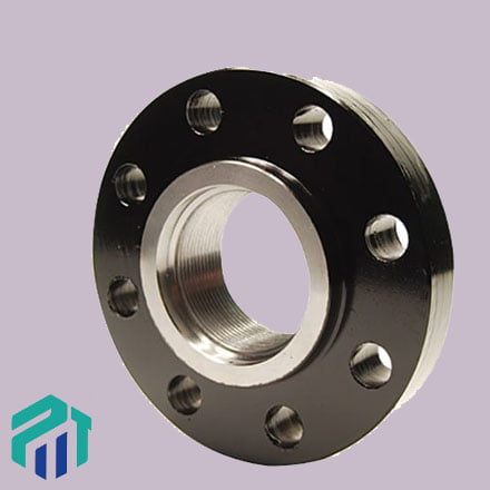 carbon f46 threaded flanges